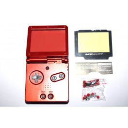 Carcasa GameBoy Advance SP Roja