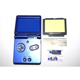 Carcasa GameBoy Advance SP Azul