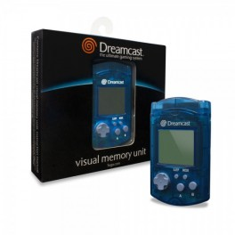 Visual Memory Unit Dreamcast oficial azul