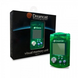 Visual Memory Unit Dreamcast oficial verde