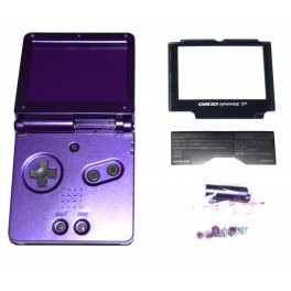 Carcasa GameBoy Advance SP Morada