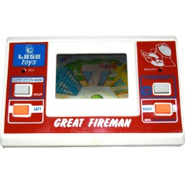 Game & Watch Luso Toys Great Fireman