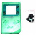 Carcasa GameBoy DMG-01 verde transparente