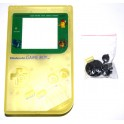 Carcasa GameBoy DMG-01 amarillo transparente
