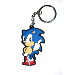 Llavero goma Sonic the Hedgehog