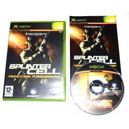 Juego Xbox Splinter Cell: Pandora Tomorrow (segunda mano)