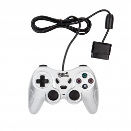 Mando Playstation/Playstation 2 compatible plata Under Control económico