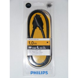 Cable HDMI alta velocidad Philips 1m