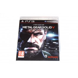 Juego Playstation 3 Metal Gear V: Ground Zeroes (nuevo)