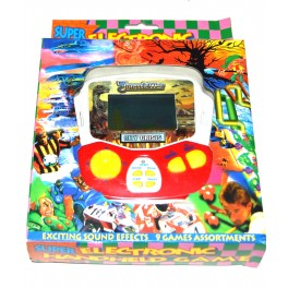 Consola tipo Game & Watch Jurassic War