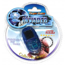 Consola llavero tipo Game & Watch Finger Game Invader