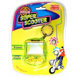 Consola llavero tipo Game & Watch Super Scooter