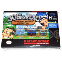Juego SNES Joe & Mac Collection (nuevo)