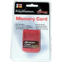 Memory Card compatible Playstation 1 MB. roja
