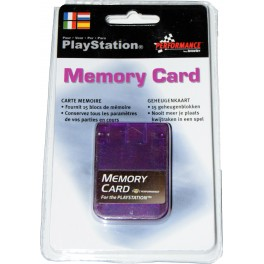 Memory Card compatible Playstation 1 MB. morada