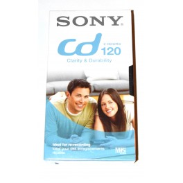 Cinta VHS Sony CD120