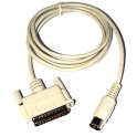 Cable Apple IIe impresora serie