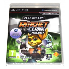 Juego Playstation 3 Ratchet and Clank Trilogy: HD Collection (nuevo)