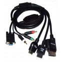 Cable VGA multiple Playstation 3/Wii/Wii U/Xbox 360