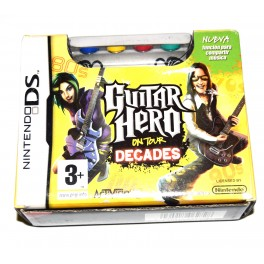 Juego Nintendo DS Guitar Hero on Tour Decades