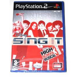 Juego Playstation 2 Disney Sing It: High School Musical 3 (nuevo)