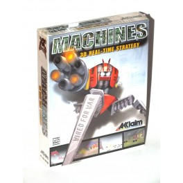 "Juego PC Machines ""3D Real-Time strategy"" (nuevo)"