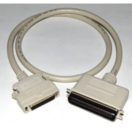 Cable SCSI II Centronics 50 a HD Centronics 50