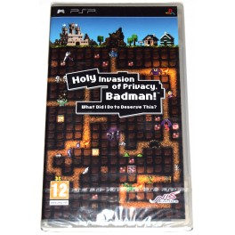 Juego PSP Holy Invasion Of Privacy Badman! (nuevo)