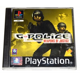 Juego Playstation G-Police Weapons of Justice