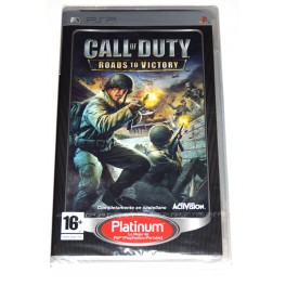 Juego PSP Call Of Duty: Roads To Victory (nuevo)