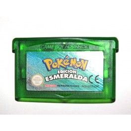 Juego GameBoy Advance Pokémon Esmeralda