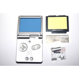 Carcasa GameBoy Advance SP Plata