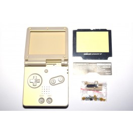 Carcasa GameBoy Advance SP Dorada