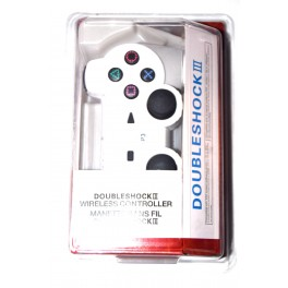 Mando inalámbrico compatible Playstation 3 blanco