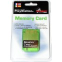 Memory Card compatible Playstation 1 MB. verde