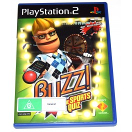Juego Playstation 2 Buzz! The Sports Quiz