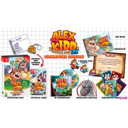 Juego Nintendo Switch Alex Kidd in Miracle World DX Signature Edition